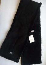 UGG® Australia 4 Panel Black Sequin Shearling Black UGG Scarf - $192.31