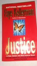Giustizia da Faye Kellerman (1996, Libro in Brossura) Peter Decker Rina ... - $11.83