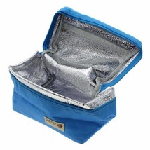 Mini Portable Durable Outdoor Camping Picnic Insulated Lunch Box Carry Bag - $2.79