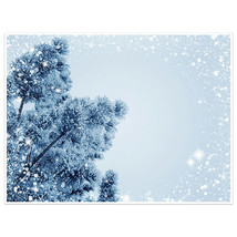 Snowy Tree Photography Wall Art Poster - $14.36+