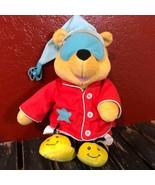Disney Winnie The Pooh Plush Sleep Sing Fisher Price Animated Toy Play T... - $29.69