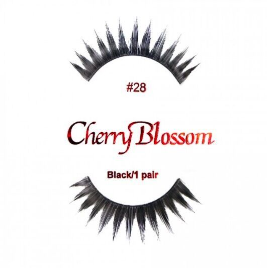 Primary image for CHERRY BLOSSOM EYELASHES STYLE #28 -100% Human Hair CHOOSE from VERIETY QTY SET