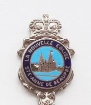 Collector Souvenir Spoon Canada Quebec Ste. Anne de Beaupre La Nouvelle Eglise - $9.99