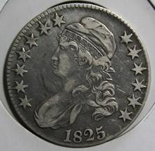 1825 Capped Bust Half Dollar 50¢ Coin Lot# EA 321