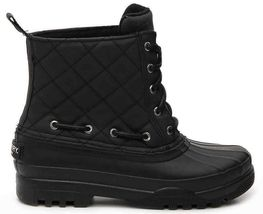 New Women's Paul Sperry Gosling Duck Waterproof Quilted Top Rubber Boots NIB image 3