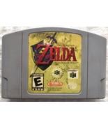 Legend of Zelda Ocarina of Time (Nintendo 64 1998) N64 Authentic Game Ca... - $30.00