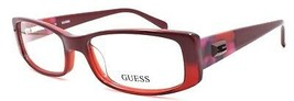 GUESS GU2409 RD Women's Eyeglasses Frames 53-16-140 Red + CASE - $64.25