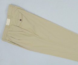 NEW! $129 Orvis Most Comfortable Chinos Pants! 36 x 32  *Pleated* *Light... - $69.99