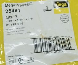 Viega MegaPress GTee With HNBR Smart Connect Feature 25491 image 3