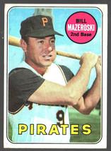 1969 Topps #335 Bill Mazeroski Pirates Ex/Mt - $9.75