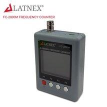 LATNEX FC-2800M Handheld Ham Radio CB Frequency Counter w/ CTCCSS DCS Decoder - $59.99