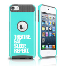 For Apple iPod Touch 5th 6th Shockproof Hard Case Cover Theatre Eat Slee... - $14.99
