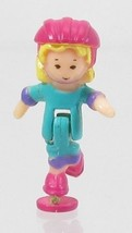 1994 Vintage Polly Pocket Dolls Polly on the Go - Polly Bluebird Toys - $7.50