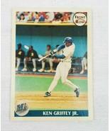 KEN GRIFFEY JR 1991 Front Row Charter Member PROMO Card #3 Seattle Mariners - $7.95