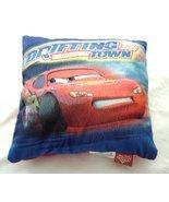 """Disney Pixar Cars Lightening McQueen Drifting Through Town Pillow 12"""" X... - $14.99"""