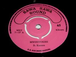 Daniel Kamau Mwihitukiri Operator 45 Rpm Record Sawa Sawa Sound Label - $499.99