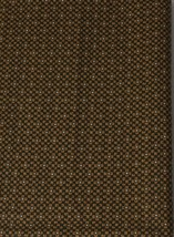 Vintage Box Pattern in Black Green and Sienna 100% Cotton Quilt Fabric USA - $6.43