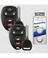 2 For 2005 2006 2007 2008 2009 2010 Pontiac G6 Keyless Remote Car Fob + Key - $17.81