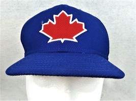 Toronto Blue Jays Ball Cap Fitted Sz 7 New Era Authentic Collection Base... - $14.50