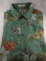 Campia Moda Sport Hawaiian Style Floral Shirt Men's XXL 100% Cotton - $14.25