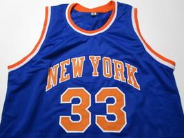PATRICK EWING / NBA HALL OF FAME / AUTOGRAPHED N.Y KNICKS CUSTOM JERSEY / COA image 2