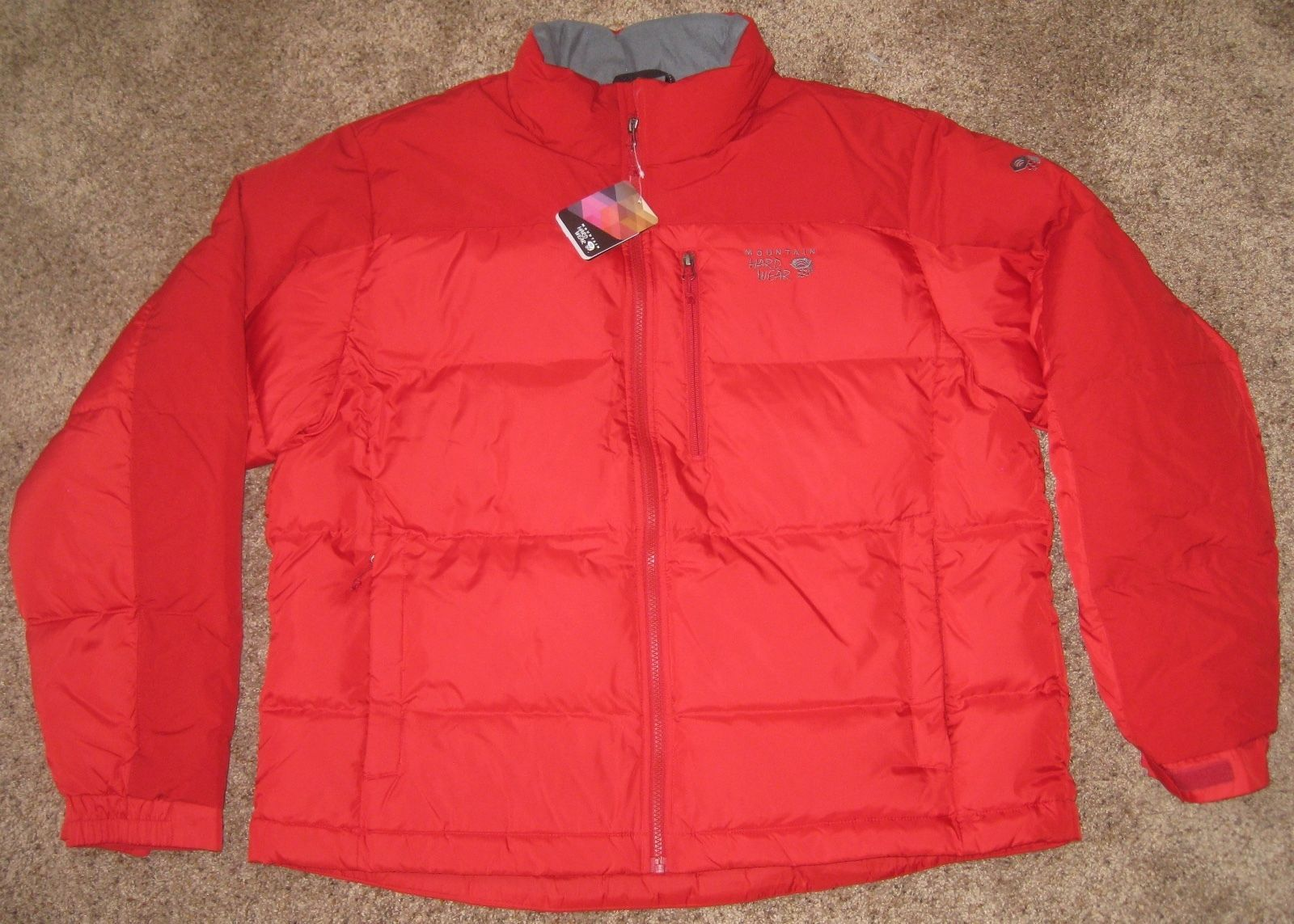 Primary image for Mountain Hardwear CLASSIC HUNKER DOWN JACKET COAT Men's M MD RED NEW OM0190 675