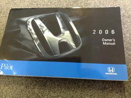2006 Honda Pilot Suv Truck Owners Manual Factory Oem Books 2006 Dealership X - $43.99