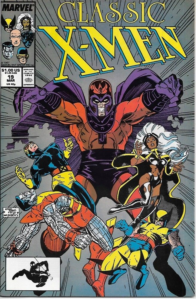 Classic X-Men Comic Book #19 Marvel Comics 1988 NEAR MINT NEW UNREAD