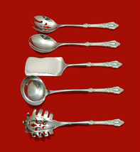 Eloquence by Lunt Sterling Silver HHWS  Hostess Set 5pc Custom Made - $359.00