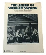 The Charlie Daniels Band the Legend of Wooley Swamp sheet music rare 1980 - $18.69