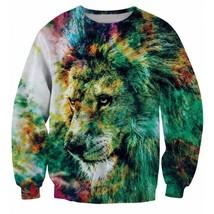 Art Painting Vintage Crewneck Sweatshirt - $36.58