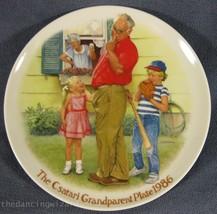 The Home Run Joseph Csatari Grandparent Collector Plate 1986 COA Vintage - $17.95