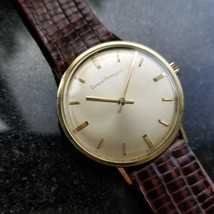 GIRARD-PERREGAUX Gold-Capped Men's Manual Hand-Wind Dress Watch c.1960s ... - $2,405.88
