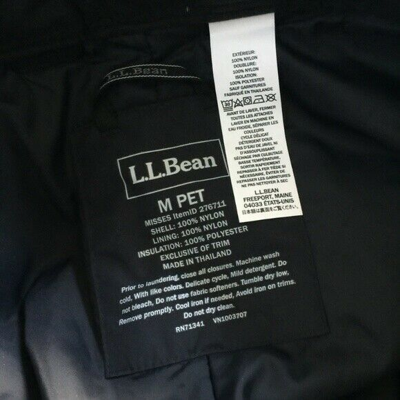 L.L. Bean ThermaTek Waterproof Snow Pants