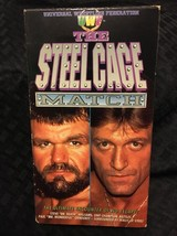 THE STEELCAGE MATCH uwf NON-RENTAL wrestling vhs - $0.98