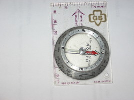 Girl Scouts-Official Compass-Silva Systems-NO BOX-USA-1960's - $10.00