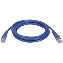 Tripp Lite N001-005-BL CAT-5E Snagless Molded Patch Cable (5ft) - $19.32