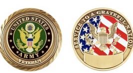 Challenge Coin U.S. Army Veteran Coin - $14.09