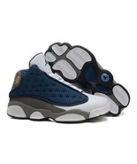 Keevin Air Jordan 13 Shoes White Orchid Grey