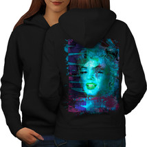 Celebrity Marilyn Sweatshirt Hoody Feminine Women Hoodie Back - $21.99+