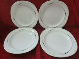 Mikasa Caviar Salad Plates Set of 4 - $19.79