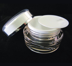 500 Beauty Containers Wholesale High Quality Empty Acrylic Cream Jars 15... - $849.95