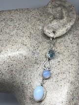 Vintage Genuine Vintage Glass 925 Sterling Silver Earrings - $51.48