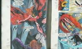 Team Titans #23-DC Color Guides Production Art - $272.81