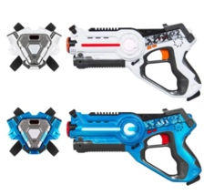 Set of 2 Infrared Laser Tag Blasters Kids Childrens Interactive Toy With... - $49.99