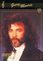 Gary Morris trading card (Country Music) 1992 Collect-A-Card Country Cla... - $3.00