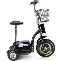MotoTec Electric Trike 48v 500w Personal Transporter 3 Wheel Scooter up ... - $710.00