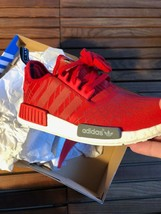 Adidas NMD Runner Red Size 10 New image 1