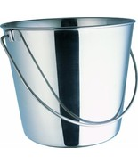Indipets Heavy Duty Stainless Steel Pail, 6-Quart - $21.75