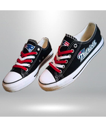 patriots shoes womens converse style patriots sneakers new england fans ... - $59.99